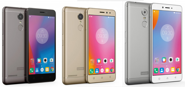 Lenovo K6, K6 Power, e K6 Note