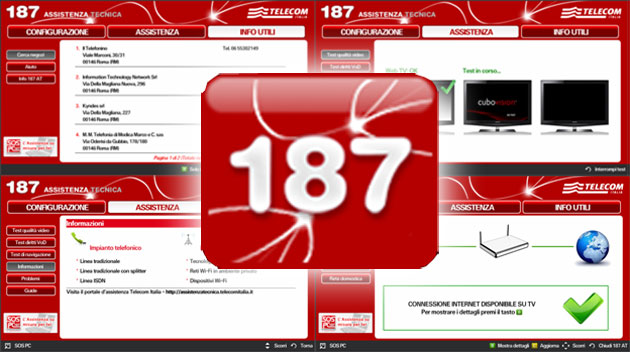 TIM via App 187 per Smart TV e lettori Bluray Samsung offre assistenza commerciale e tecnica