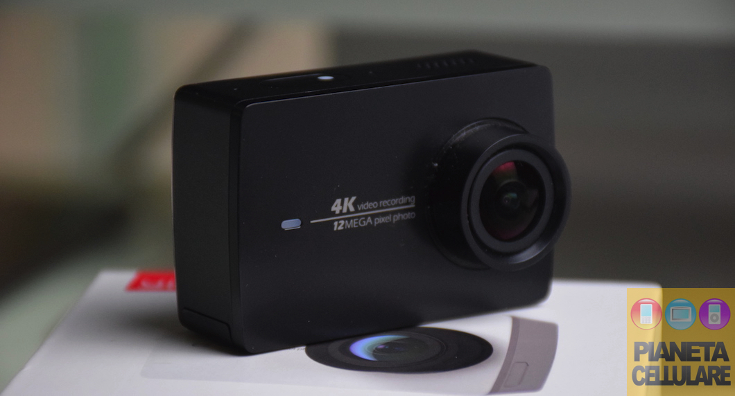 Xiaomi YI 4K Action Cam, unboxing e recensione