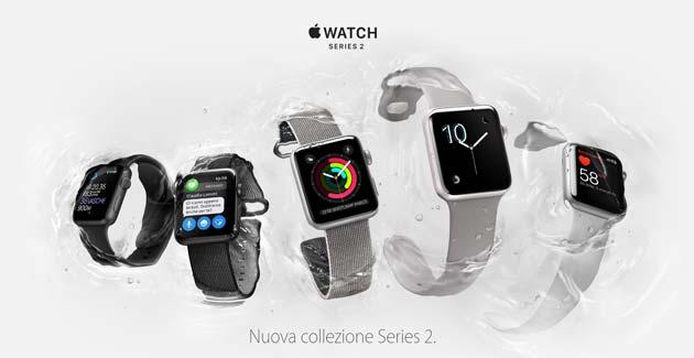 Apple Watch Series 2: acqua resistente, GPS, display migliore