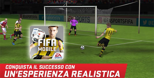 FIFA 17 disponibile per Android, iOS e Windows 10 Mobile