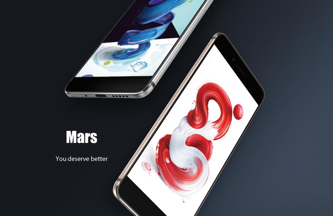 Vernee Mars ufficiale: Helio P10, 5.5 FHD, 3000 mAh e 4 GB di RAM