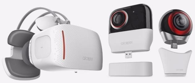 Alcatel Vision VR, visore autonomo con chip Samsung Exynos
