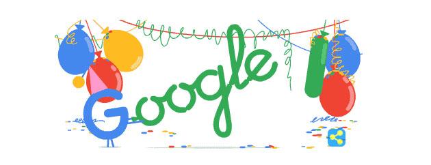 Google compie 18 anni e diventa maggiorenne