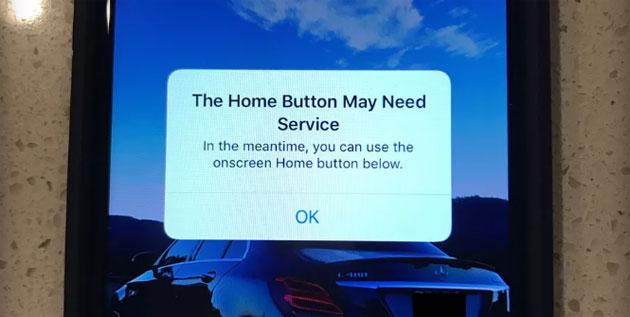 Tasto Home non funzionante su iPhone 7? Apple pensa a tutto!