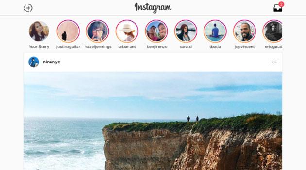 Instagram su Windows 10, tablet e PC