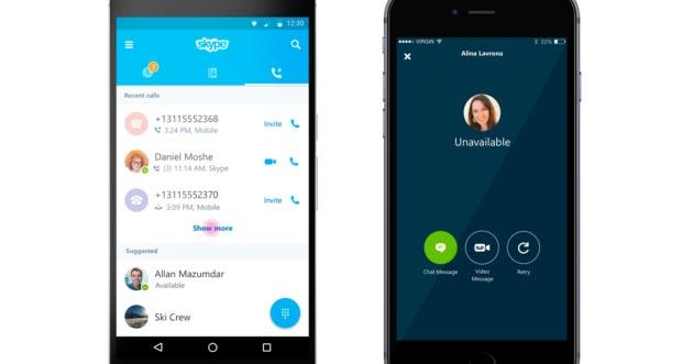 Skype: chiamate semplificate anche di gruppo e nuova Segreteria Telefonica