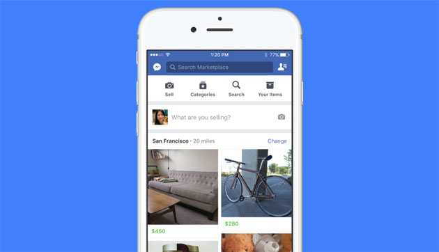 Facebook Marketplace per vendere e comprare oggetti tra utenti