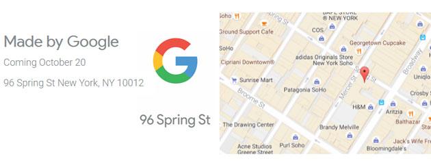 Google apre negozio a New York per il lancio dei telefoni Pixel