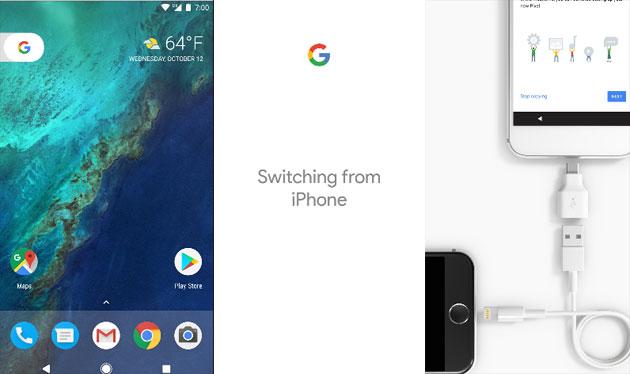 Google Pixel: come trasferire dati iPhone a Pixel