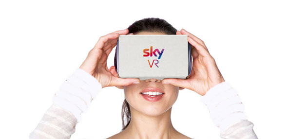 Sky VR, nuova app di contenuti in Realta' Virtuale