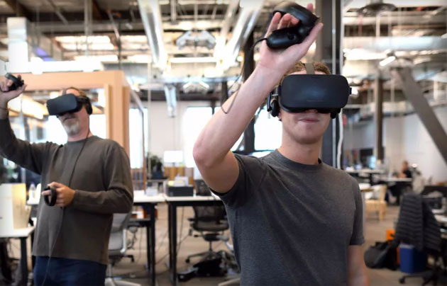Oculus Connect 3: Touch, Earphones e Social VR da Facebook