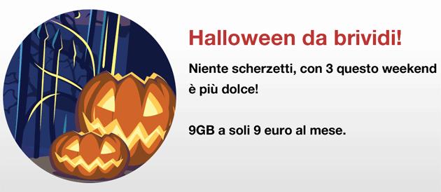 3 Italia, Promo Halloween