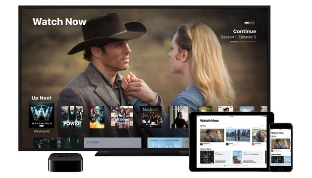 Apple lancia app TV per Apple TV, iPhone e iPad