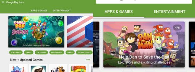 Google Play Store si prepara a cambiare