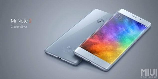 Xiaomi Mi Note 2 ufficiale con display OLED flessibile