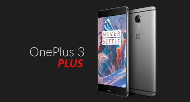 OnePlus 3 Plus, atteso aggiornamento di OnePlus 3