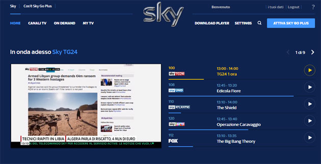 Sky Go sul Play Store per smartphone e tablet Android. Sky Go su Android, PC, iOS e Windows anche in versione Plus