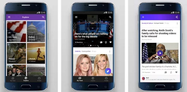 Yahoo Newsroom, il news feed sociale per iOS e Android