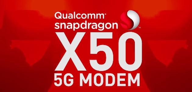 Snapdragon X50, primo modem 5G di Qualcomm sul mercato dal 2019 nei primi device