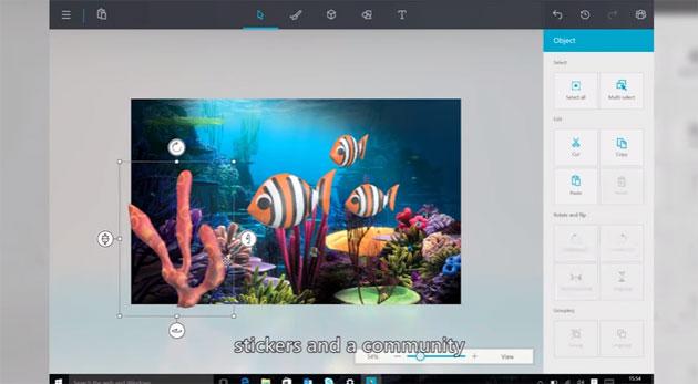 Microsoft annuncia Paint 3D