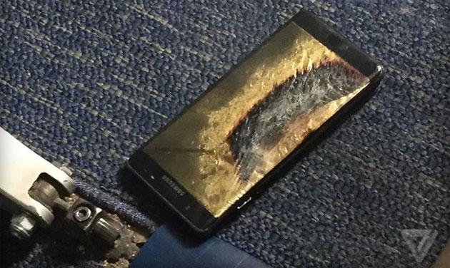 Se avete un Samsung Galaxy Note 7, non potrete fare una crociera