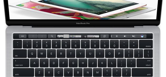 Apple Touch Bar come funziona