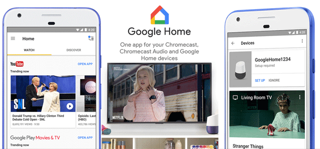 Google Cast cambia nome in Chromecast built-in