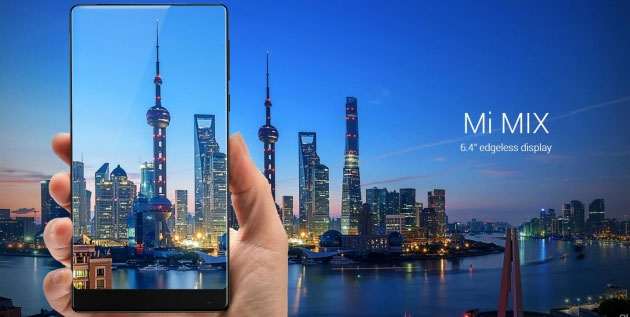 Xiaomi Mi Mix, smartphone con display senza bordi