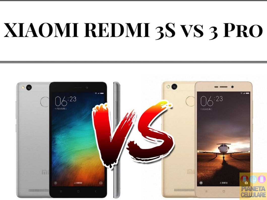 Xiaomi Redmi 3S vs Xiaomi Redmi 3 Pro, il nostro confronto video