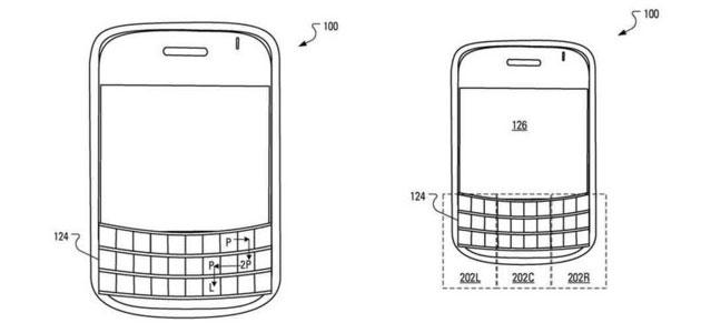 BlackBerry brevetta autenticazione tramite tastiera sensibile al tocco