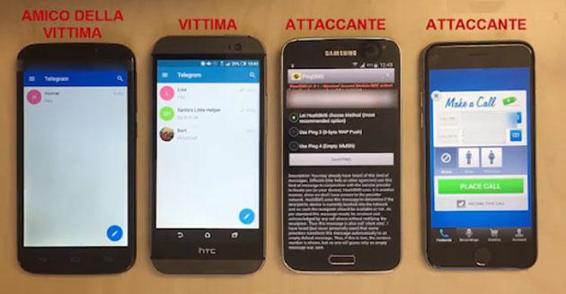 Whatsapp e Telegram violabili tramite segreteria telefonica
