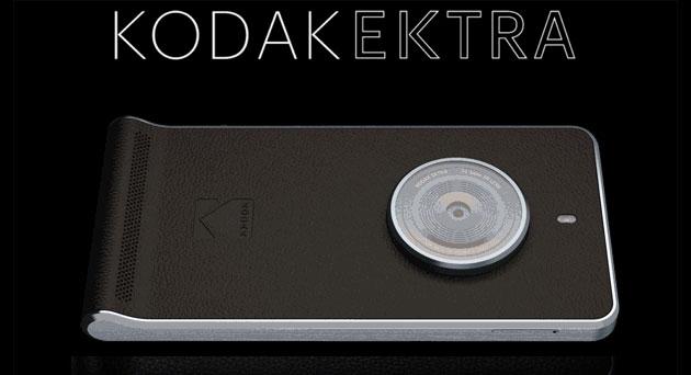 Kodak Ektra, nuovo camera phone con Android