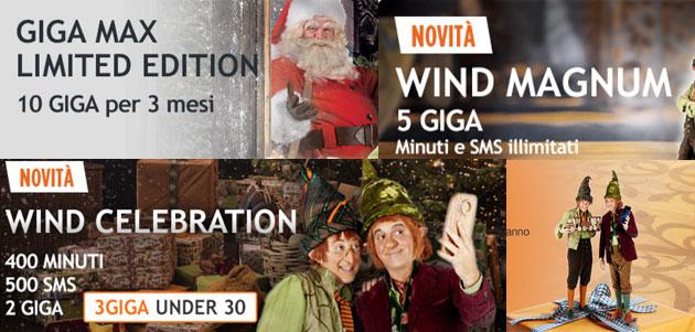 Wind per Natale 2016: Offerte e Promozioni