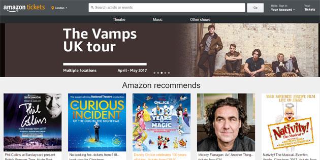 Amazon Tickets, potremo acquistare biglietti per concerti di musica su Amazon.it ?