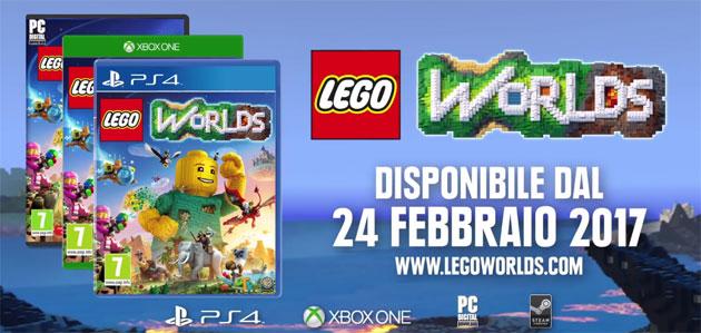 Lego Worlds, gameplay e data di uscita svelati