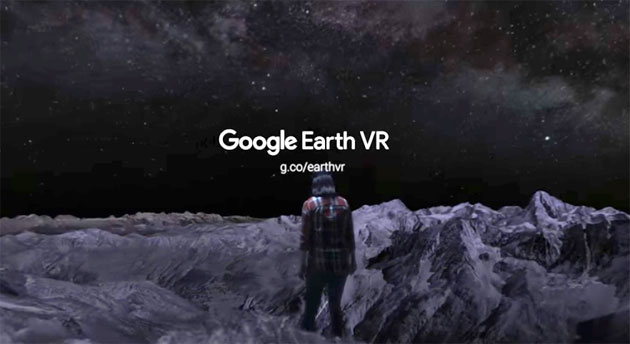 Google presenta Earth VR per HTC Vive