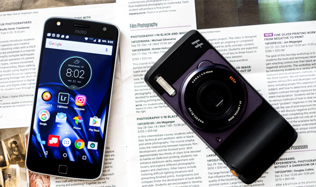 Recensione Lenovo Moto Z Play e modulo Hasselblad camera