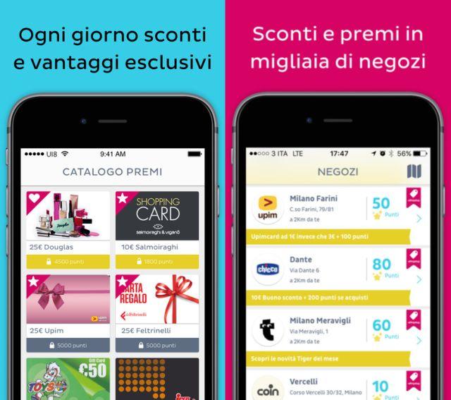 CheckBonus: App che ti fa guadagnare punti visitando i negozi