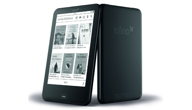 Tolino Vision 4 HD, ebook reader con SmartLight