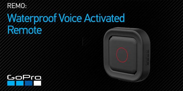 GoPro Remo, telecomando a controllo vocale per Hero5