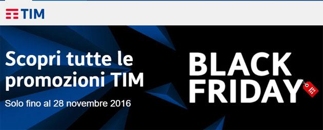 TIM per Black Friday regala Giga, sconta TIM Sky, smartphone e altri prodotti. Vodafone regala speaker bluetooth