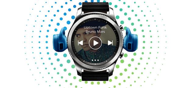 Spotify su Samsung Gear S2 e Gear S3. Ascolto offline disponibile su Gear S3