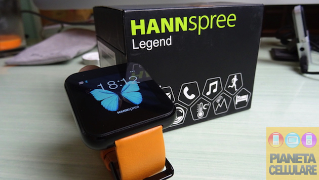 Recensione Hannspree Legend, Smartwatch Low Cost per Android ed iOS