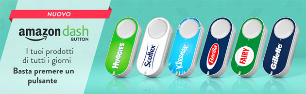 Foto Amazon Dash Button come funziona e si Configura
