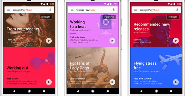 Google Play Music diventa più intelligente