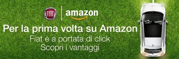 Fiat store su Amazon, Panda e 500 si comprano online