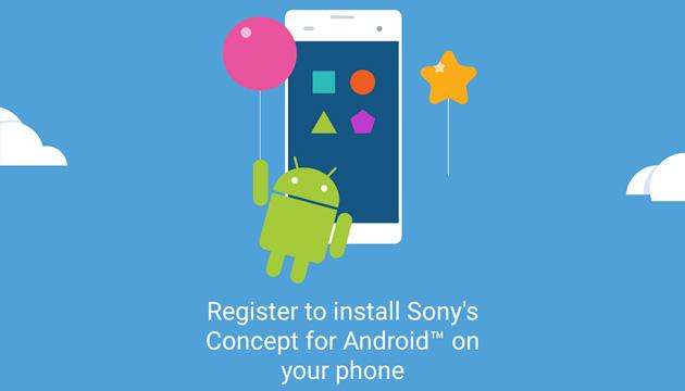 Sony Concept for Android in Europa per testare Android 7 Nougat su Xperia X