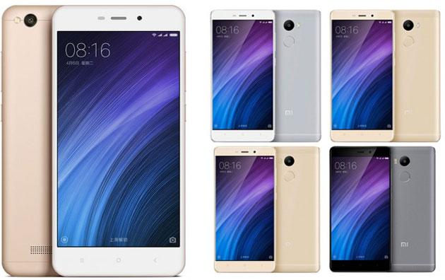 Xiaomi Redmi 4X allarga la famiglia Redmi 4 che include anche 4 Prime e 4A