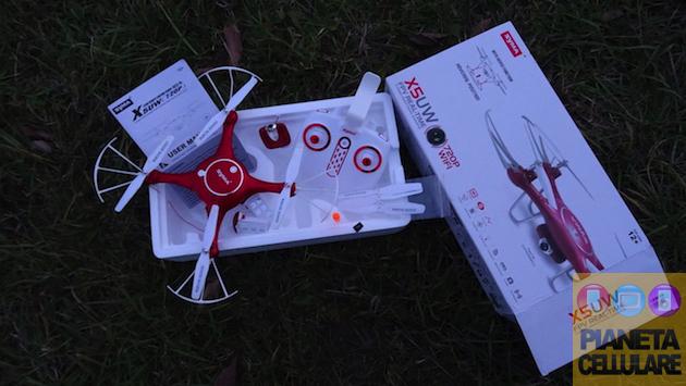 Recensione Syma X5UW, drone Low Cost ma divertente